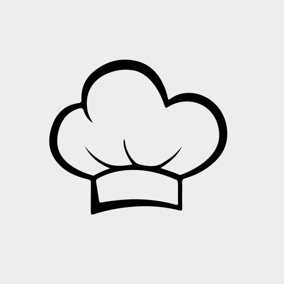 Vector Gorro de Cocinero Chef