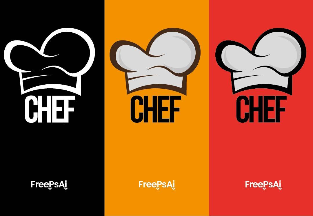 Gorro Chef Vector 3 Colores