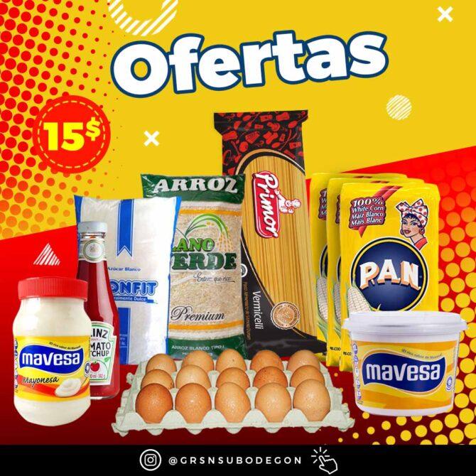 Plantilla PSD Oferta Supermercado Market Minimarket