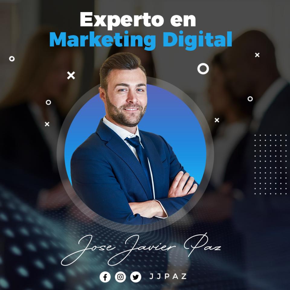 Flyer MArketing Digital Experto, Webinar, Conferencia